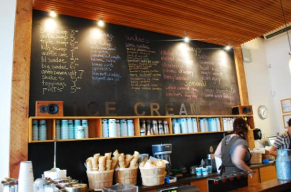 helado de Seattle Molly Moon